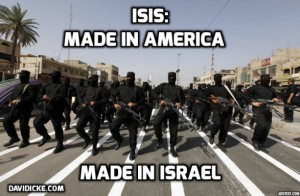 ISIS-Madein Israel-USA