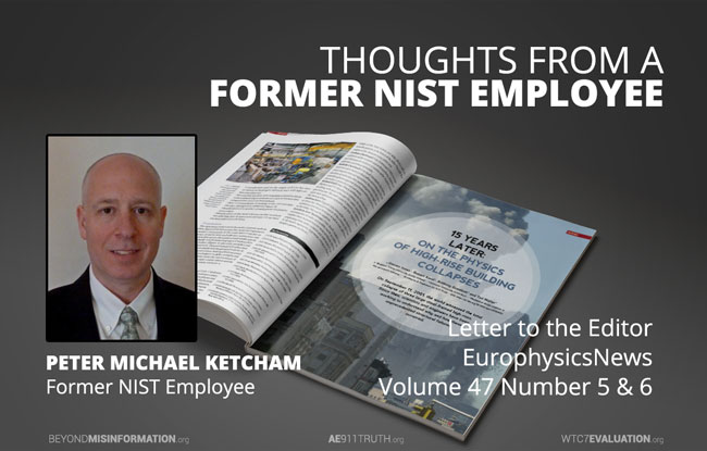Europhysics News - Thoughts from a Former NIST Employee